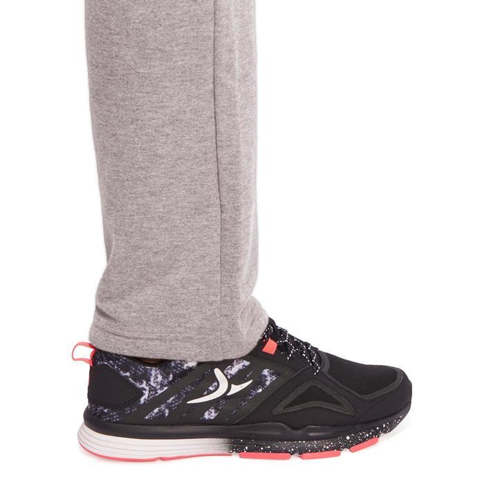 Pantalon 120 Gym & Pilates femme gris chiné - 1098836