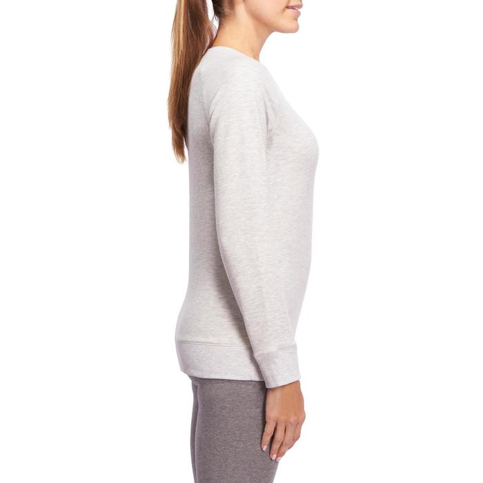 Sweat col rond Gym & Pilates  femme - 1098865