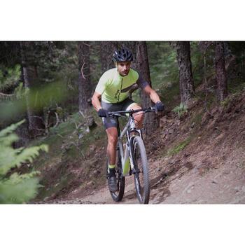 "Rockrider 920 27.5"" Mountain Bike - Grey/Lime - 1098909"