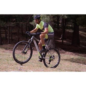 "Rockrider 920 27.5"" Mountain Bike - Grey/Lime - 1098910"