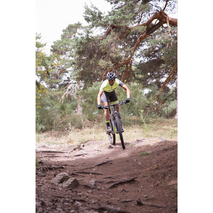 "Rockrider 920 27.5"" Mountain Bike - Grey/Lime - 1098911"