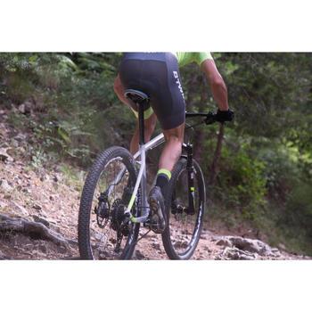 "Rockrider 920 27.5"" Mountain Bike - Grey/Lime - 1098913"