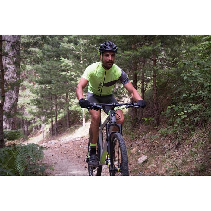 "Rockrider 920 27.5"" Mountain Bike - Grey/Lime - 1098915"