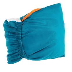 Sábana de saco de dormir de trekking de seda blanca