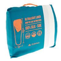Drap de sac de randonnée en soie blanc