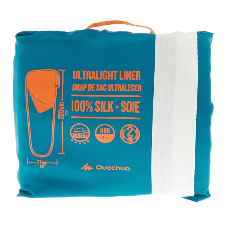 White Silk Trekking Bag Cover