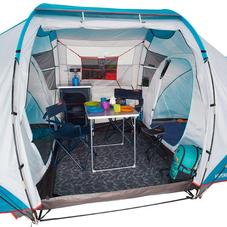 ARPENAZ 4.2 Camping Tent | 4-Person 2 Bedrooms