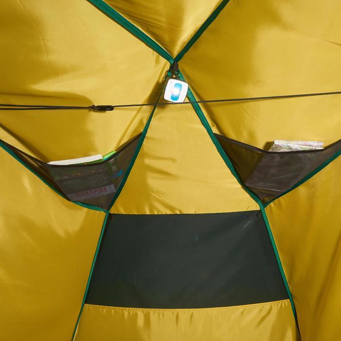 Tente de trek Quick Hiker 2 personnes verte - 1098965