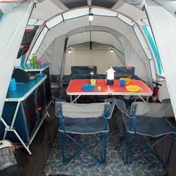 Tienda de Campaña Quechua Air Second 4.1 | 4 Personas 1 Habitación Hinchable