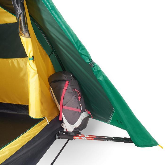 Tente de trek Quick Hiker 2 personnes verte - 1098972