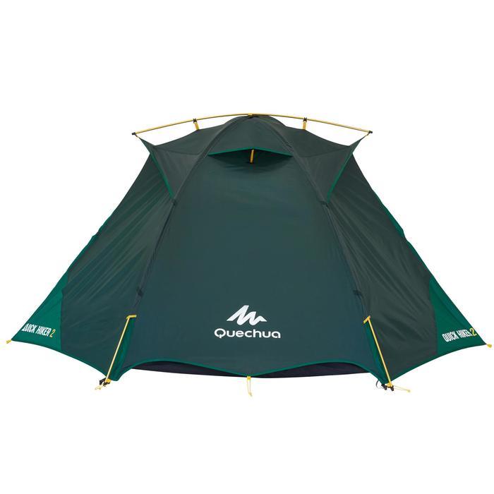 Tente de trek Quick Hiker 2 personnes verte - 1098980