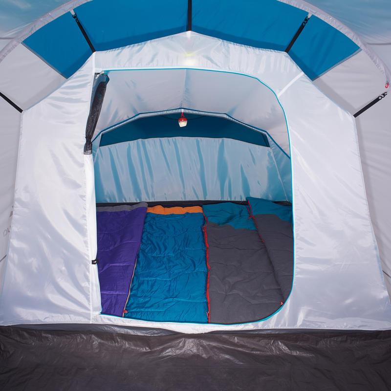Tent with poles - Arpenaz 4.1 - 4-man - 1 Bedroom