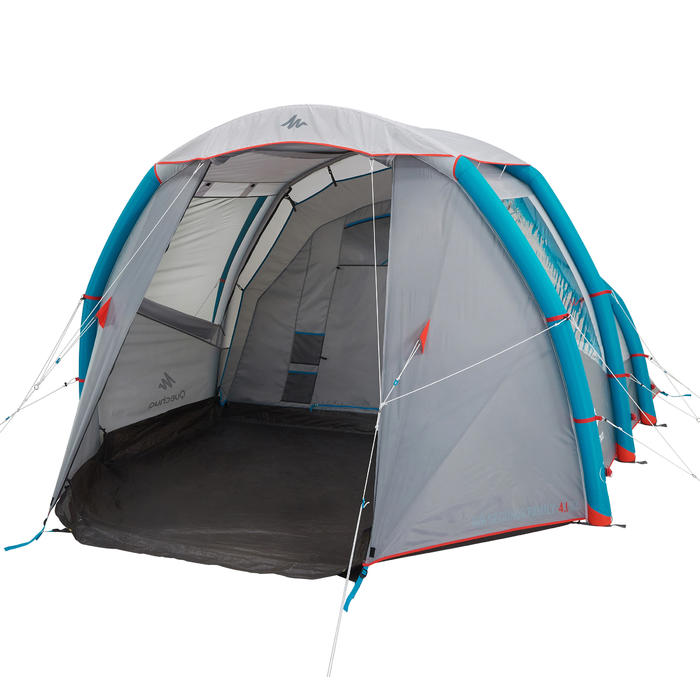 Quechua tente de camping familiale air seconds family 4 1 - Tente 4 places 2 chambres seconds family 4 2 xl ...