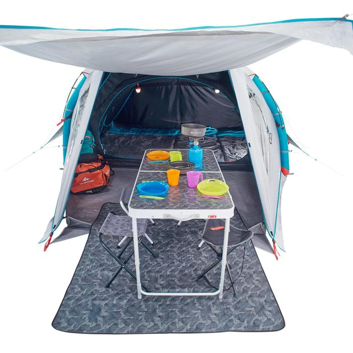Tente de camping familiale Air seconds family 4 XL Fresh & Black I 4 personnes - 1098999