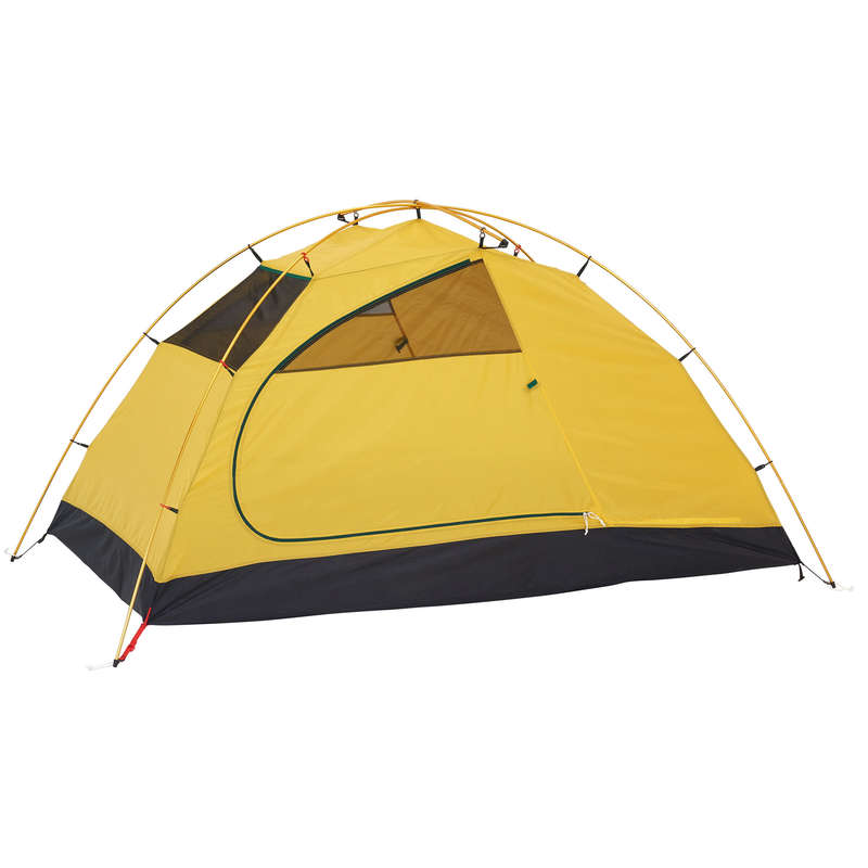 SPARE PART TREKKING TENTS Camping - Quick Hiker 2P Tent Room Green FORCLAZ - Tent Spares and Repair