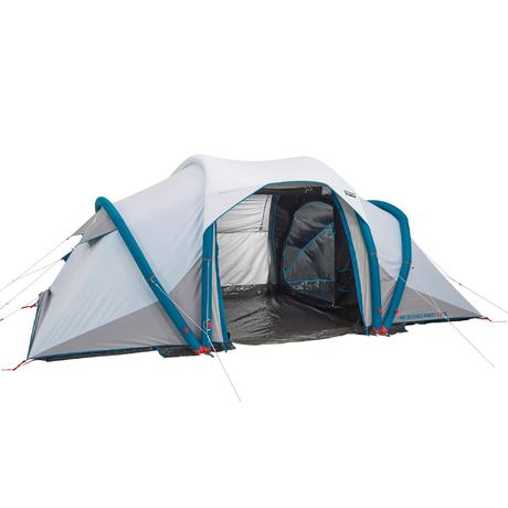 Tente de camping familiale air seconds family 4 2 xl fresh - Tente 4 places 2 chambres seconds family 4 2 xl ...