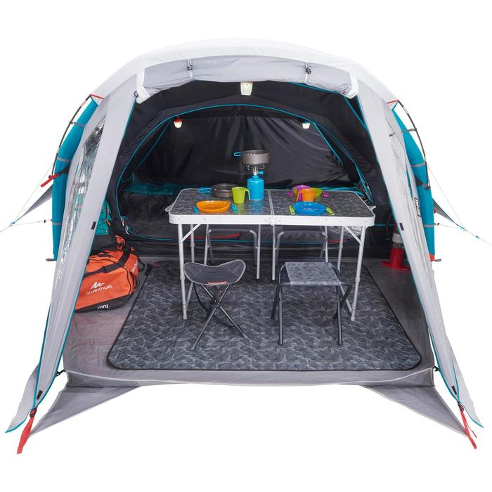 Tente de camping familiale Air seconds family 4 XL Fresh & Black I 4 personnes - 1099032