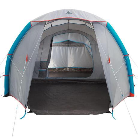 Tente de camping familiale air seconds family 4 1 xl i 4 - Tente 4 places 2 chambres seconds family 4 2 xl quechua ...