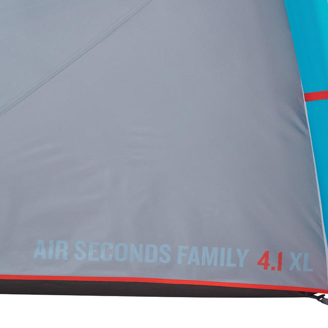 inflatable camping tent - Air Seconds 4.1 - 4 Person - 1 Room