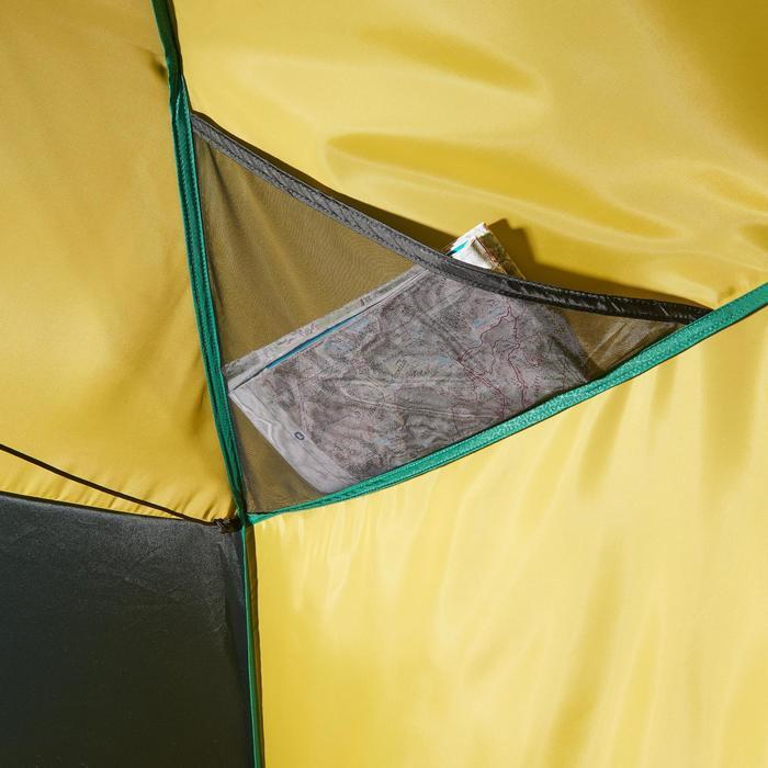 Tente de trek Quick Hiker 3 personnes verte