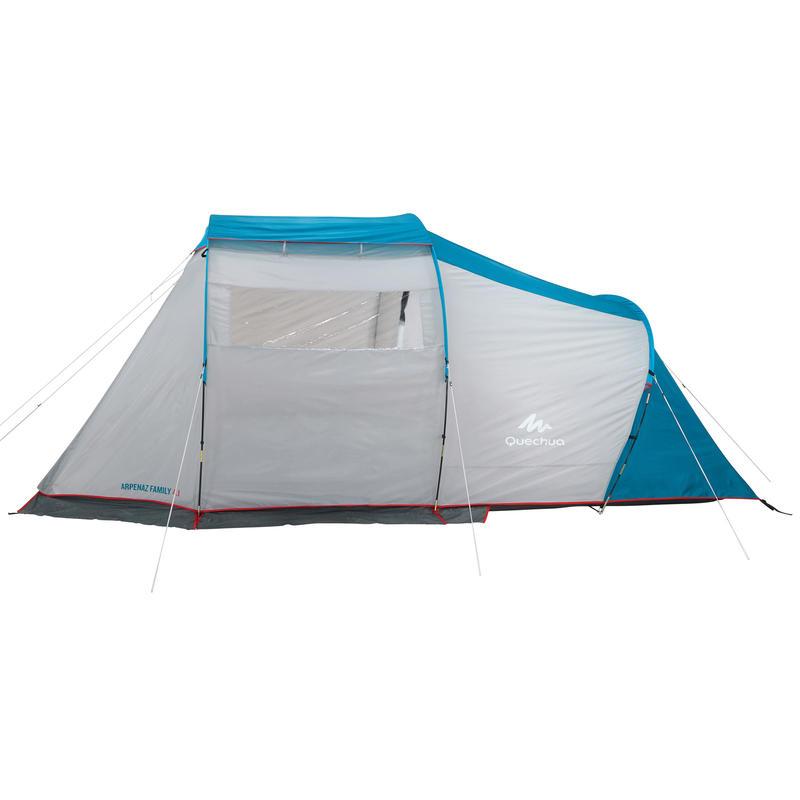 Tente à arceaux de camping - Arpenaz 4.1 - 4 Personnes - 1 Chambre
