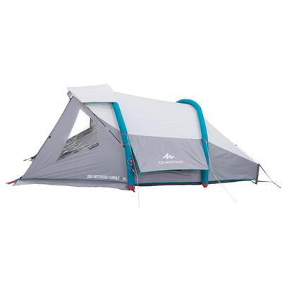 Tente de camping gonflable AIR SECONDS 4 FRESH&BLACK | 4 Personnes 1 Chambre