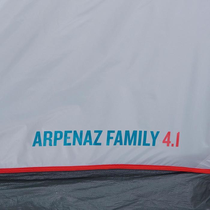 Kampeertent met bogen ARPENAZ 4.1   4 personen 1 slaapcompartiment