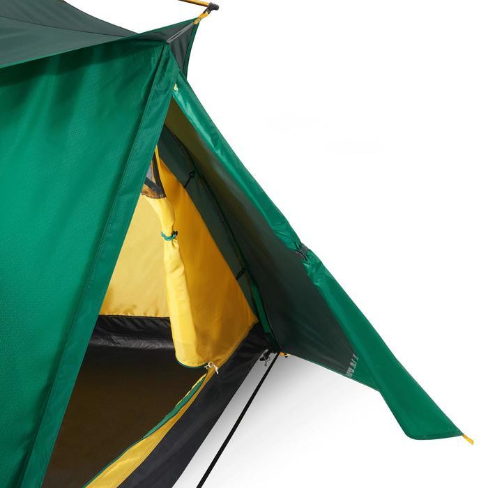 Tente de trek Quick Hiker 2 personnes verte - 1099084