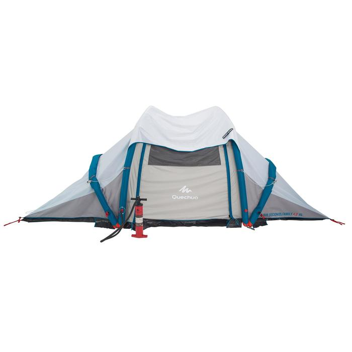 Tente de camping familiale Air Seconds family 4.2 XL Fresh & Black I 4 personnes - 1099085