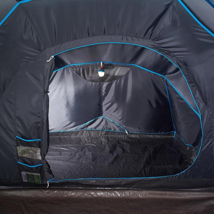 Tente de camping familiale Air Seconds family 4.2 XL Fresh & Black I 4 personnes - 1099092