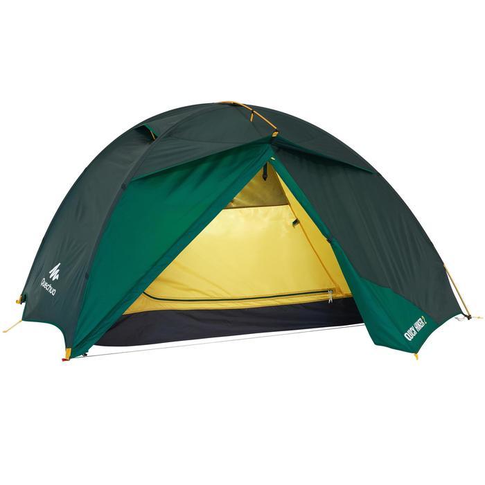 Tente de trek Quick Hiker 2 personnes verte - 1099094