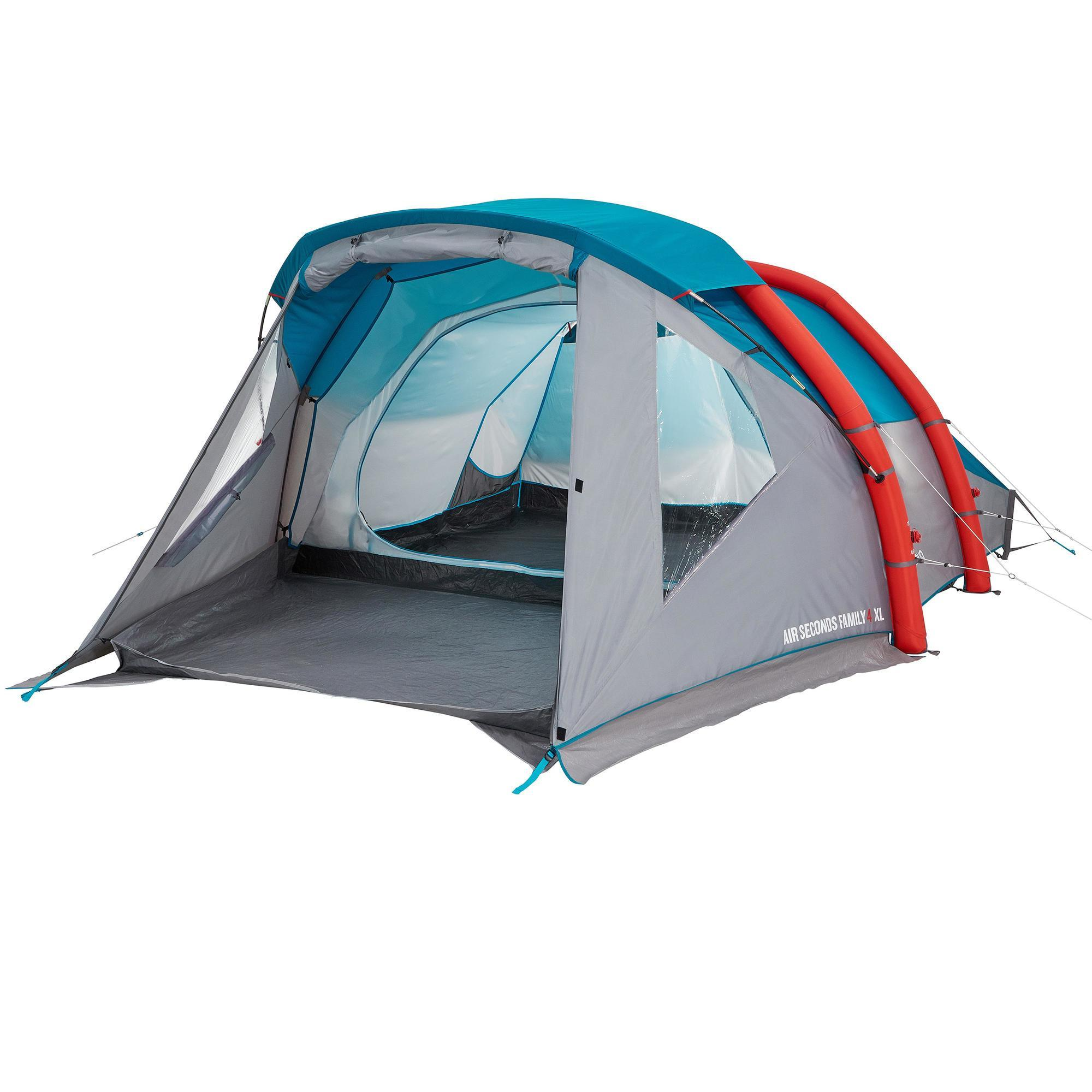 Zelt 6 9 M : Air seconds family xl camping tent persons