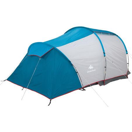 Carpa Familiar Camping Quechua Arpenaz 4.1 4 Personas FPS 30