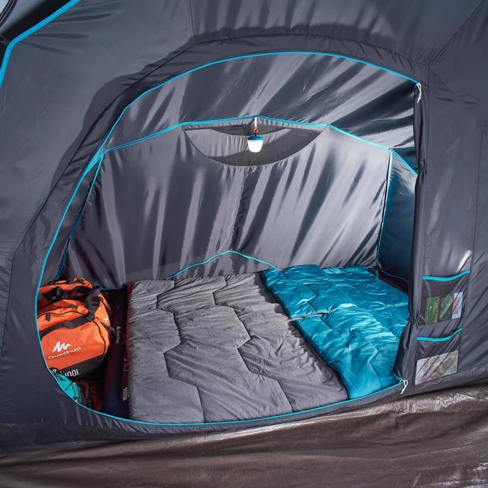Tienda camping hinchable AIR SECONDS 4.2 FRESH&BLACK | 4 Personas 2 Habitaciones