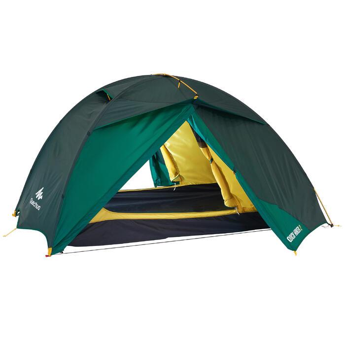 Tente de trek Quick Hiker 2 personnes verte - 1099160