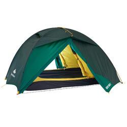 Tienda Campaña y Vivac de Montaña y Trekking Forclaz QuickHiker 2 Plazas Verde