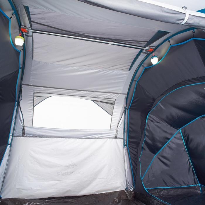 Tente de camping familiale Air Seconds family 4.2 XL Fresh & Black I 4 personnes - 1099164