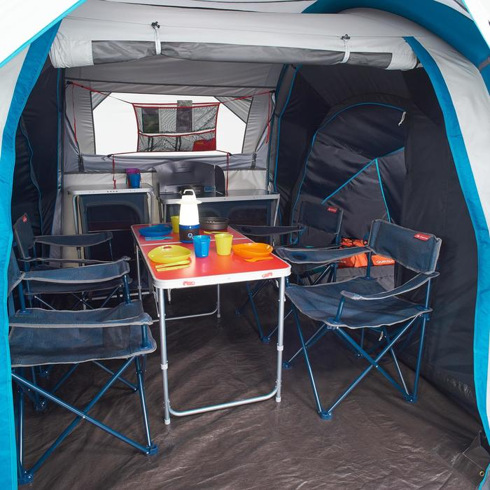 Tente de camping familiale Air Seconds family 4.2 XL Fresh & Black I 4 personnes - 1099173