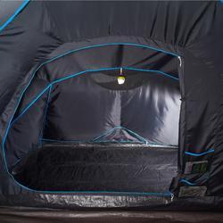 Familienzelt aufblasbar Air Seconds 4.2 Fresh&Black für 4 Personen in 2 Kabinen