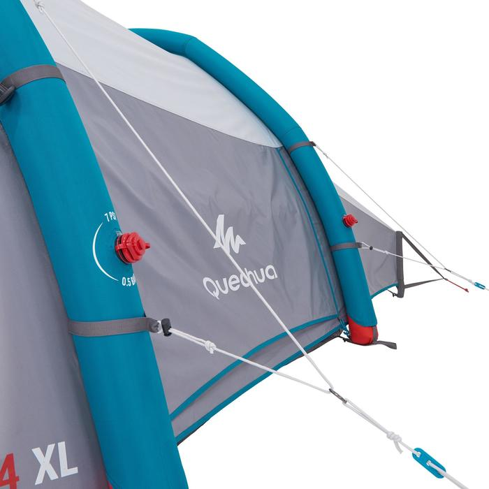 Tente de camping familiale Air seconds family 4 XL Fresh & Black I 4 personnes - 1099181