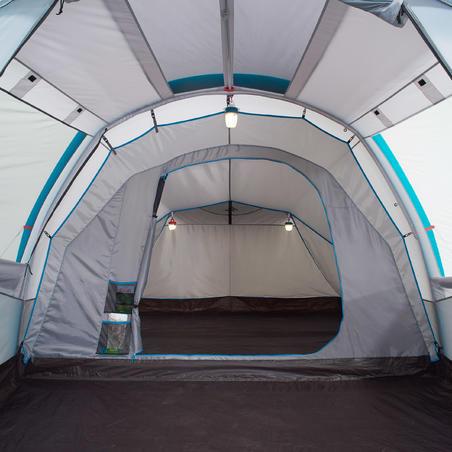 Casa de Campaña Inflable Familiar Camping Quechua 4.1 4 Personas