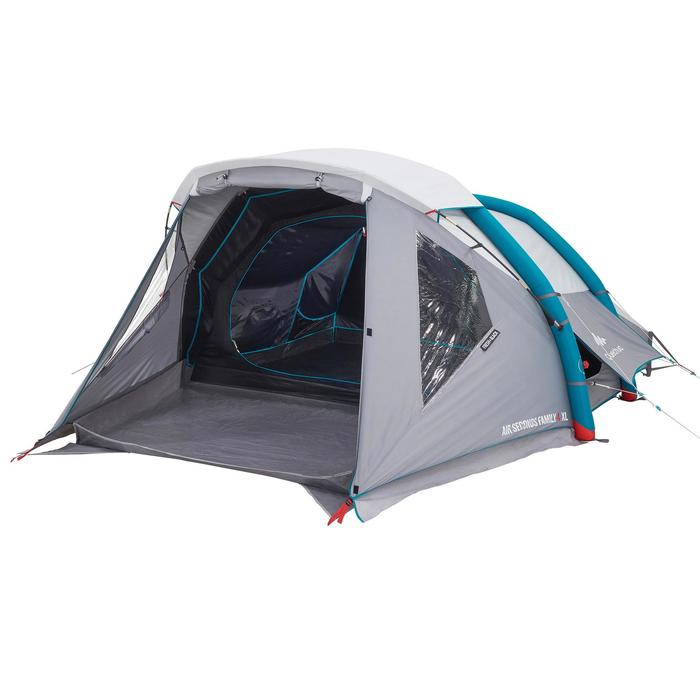 Tente de camping familiale Air seconds family 4 XL Fresh & Black I 4 personnes - 1099185