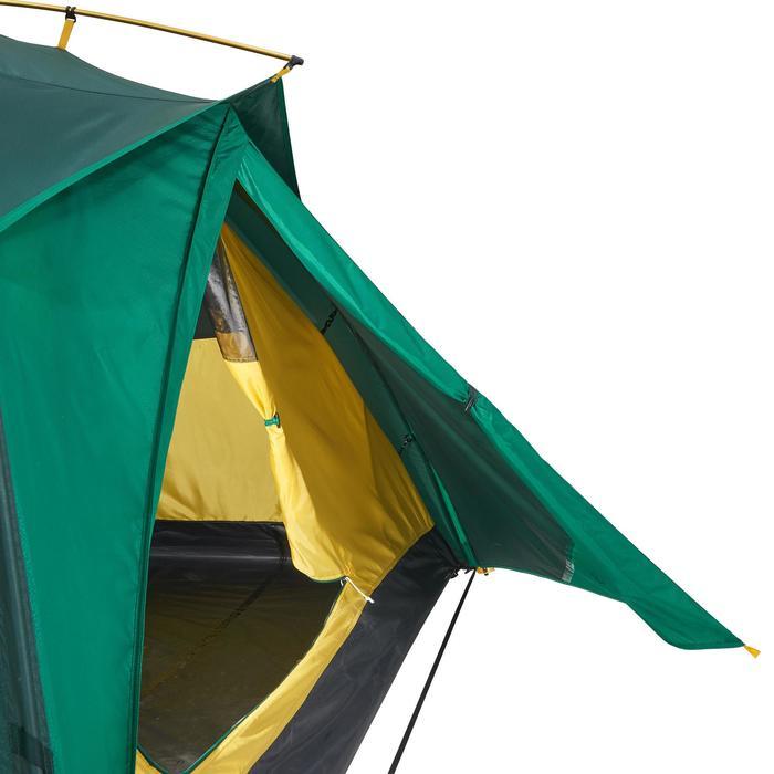 Tente de trek Quick Hiker 3 personnes verte - 1099190