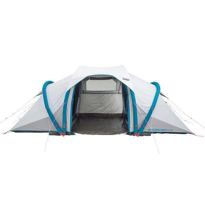 Tente de camping familiale Air Seconds family 4.2 XL Fresh & Black I 4 personnes - 1099199