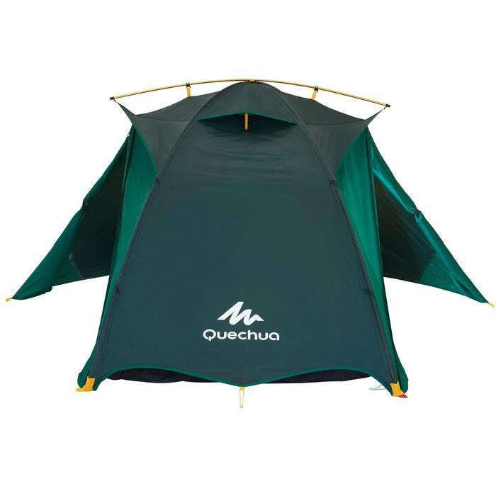 Tente de trek Quick Hiker 2 personnes verte - 1099200