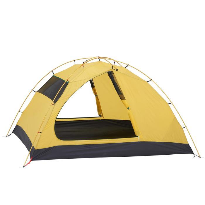 Tente de trek Quick Hiker 3 personnes verte - 1099202