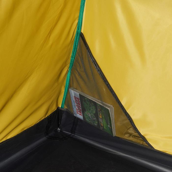 Tente de trek Quick Hiker 3 personnes verte - 1099211