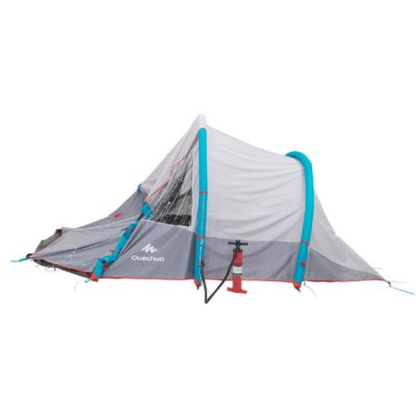 Air Seconds 4 1 Xl Family Camping Tent 4 Person Quechua