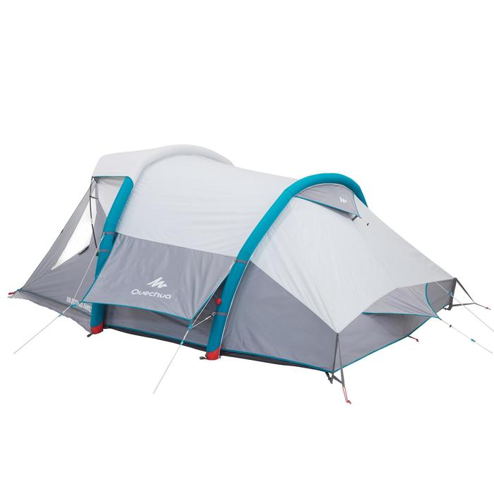 Tente de camping familiale Air seconds family 4 XL Fresh & Black I 4 personnes - 1099234
