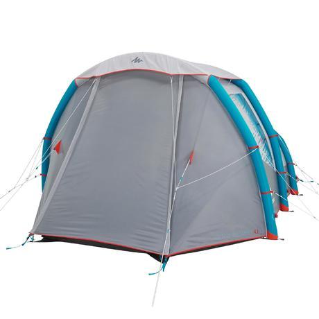 Air Seconds 4 1 Xl Family Camping Tent 4 Person Quechua